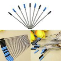 1X Schwarz & Blau Kugelschreiberminen Parker & Cross Tintenminen NEU J7N5