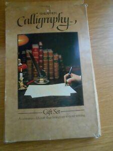 Vintage SHEAFFER Calligraphy set