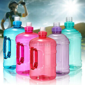 2 Litre Large BPA Free Sport Gym Training Drink Water Bottle Cap Kettle  ~