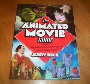 THE ANIMATED MOVIE GUIDE Animation Classic Movies Films Film History Book NEW