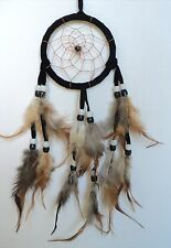 APACHE DREAM CATCHER traditional style indian dreamcatcher SMALL BLACK DCA9