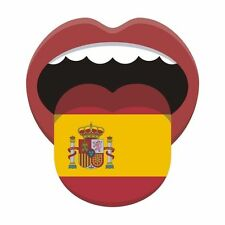 Espagnol flagspain Espagnol DRAPEAU NATIONAL langue AUTOCOLLANT graphique vinyle