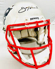 Julian Edelman New England Patriots Signed Full Size Authentic Speed Helmet JSA