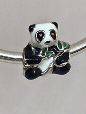 Authentic Pandora Sweet Panda Sterling Silver Enamel Charm 796256ENMX