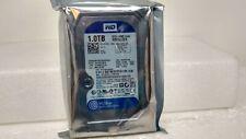 """WD Blue 1TB 7200RPM 3.5"""" 64MB cache SATA 6.0 Gb/s Hard Disk Drive - WD10EZEX"""