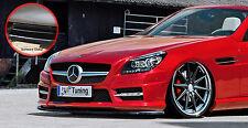 Spoiler épée Front spoiler ABS Mercedes SLK r172 55 AMG ABE noir brillant