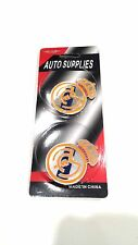 2 x Real Madrid FC Logo Stickers for your Car, Boat, Truck... High Quality Vinyl