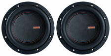 "2 Memphis Audio MOJO MJM622 6.5"" 1400w Competition Car Subwoofers DVC 2 ohm Subs"