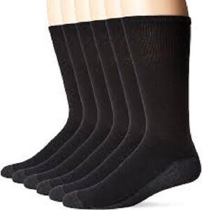 Hanes® Men's 11-Pair Ultimate® ComfortBlend® Black/White Crew Socks  FreshIQ®