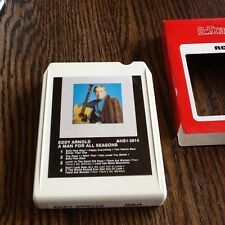 EDDY ARNOLD A MAN FOR ALL SEASONS 8 TRACK FREE USA SHIPPING COUNTRY USED CLUB