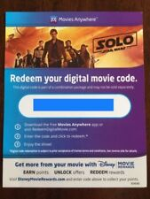 Solo: A Star Wars Story Digital Code From 4K Set