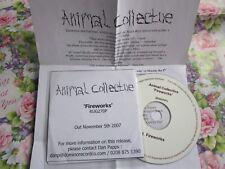 Animal Collective – Fireworks Domino RUG270T Promo + Press Re UK CD Single