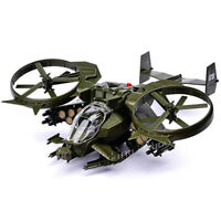 1/48 Avatar Scorpion Gunship Model Battle Airplane Simulated Military Model Toys