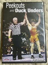 Peekouts & Duck Unders Wrestling Takedown Instructional Dvd- Pat Smith
