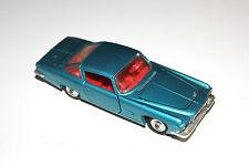 Corgi Toys Blue L.6.4 With Chrysler V8 Engine Sports Car # 241 With Spun Hubs !!