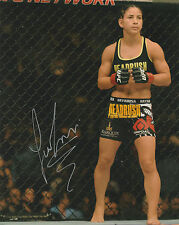 TECIA TORRES TINY TORNADO SIGNED AUTO'D 8X10 PHOTO MMA UFC TUF 20 FIGHT NIGHT F