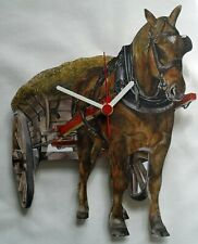 Horse and Cart Clock - OF7