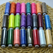 2016 Quilting Polyester New Spool Hand Sewing Thread Machine Mixed Colors 24/Lot
