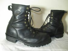 RARE MATTERHORN 120+ABRASION LINEMAN BOOTS MEN'S SIZE 9 M VINTAGE Made in USA