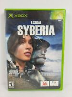 Syberia (Microsoft Xbox, 2003) Complete with Manual Tested Works