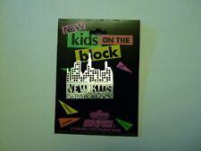 NEW KIDS ON THE BLOCK SKYLINE METAL PIN PINBACK UNUSED STORE DEAD STOCK NKOTB