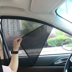 4x Magnetic Car Side Window UV Sun Shade Mesh Cover Screen Protector Accessories