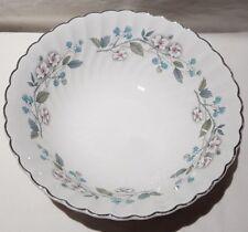 Vintage Johnson Bros Pink Snowhite Regency Blackberry Swirl Bowl 1945-68 England