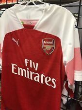 Puma Size Medium Arsenal Fc Home Soccer Jersey Red / White New