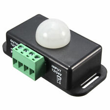 5X(Automatic DC 12V-24V 8A Infrared PIR Movement Sensor Switch For LED ligh Q5J6