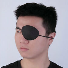 Black Medical Use Concave Eye Patch Groove Washable Eyeshades Adjustable VO