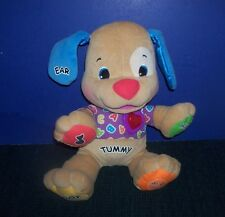 """Fisher-Price Laugh and Learn Sing & Play Puppy 15"""" Plush with Batteries"""