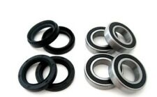 Both Front Wheel Bearings Seal Kit Suzuki LT-F500F LTF500F Quad Master 2000 2001