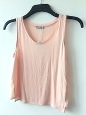 ZARA Collection ash-peach strapless wide strap blouse with elegant side details