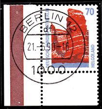 51) Berlin SWK 874 70 Pf Eckrand 3 Bogen EUL mit EST Berlin 12 m Gummi ohne Naht