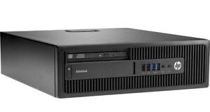 HP Elitedesk 800 G1 USFF Intel Core i5 3,0GHz 8GB RAM 256GB SSD DVD-RW