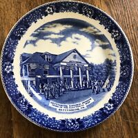 Vintage Gettysburg National Museum Plate Old English Staffordshire Ware England