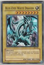 YU-GI-OH Blue Eyes White Dragon Super Rare SKE-001 Blauäugiger Weißer Drache ENG