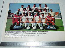 CLIPPING POSTER FOOTBALL 1987-1988 CO SAINT-DIZIER COSD