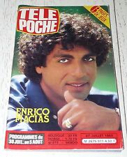 TELE POCHE  #911 27/07 1983 ENRICO MACIAS MOTO ULTIMA COLLARO AKENDENGEN