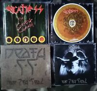 DEATH SS - THE CURSED CONCERT CD LUCIFER 1997 + THE 7th SEAL LIMITED SLIPCASE CD