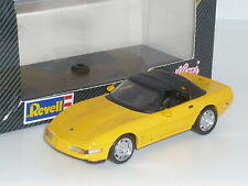 1:43 Detail Cars 1994 Chevrolet Corvette C4 Convertible V8 Yellow SoftTop Cabrio