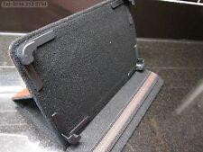 """Brown 4 angolo afferra Multi Angle Custodia/Supporto per 7"""" Cube U9GT4 Tablet PC RK3066"""