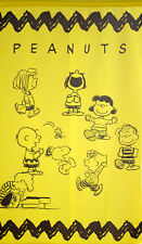 JAPANESE Noren Curtain  PEANUTS SNOOPY NEW 85x150cmn MADE IN JAPAN