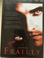 MATTHEW MCCONAUGHEY BILL PAXTON Frailty Dark Psicológico Thriller US R1 DVD