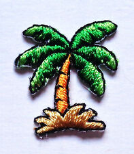 SMALL PALM TREE IRON ON PATCH  3/4 X 7/8 inch