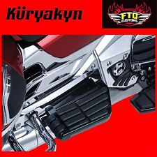 Kuryakyn Black Transformer Floorboards for Passengers All GL1800 & F6B 7061