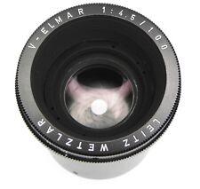 Leica V-Elmar 100mm f4.5  #2582743