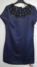 BNWT Vintage Embellished Blue dress Size 10