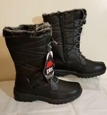 TOTES Joelle Women's Waterproof Winter Boots~ Black US Sz 7M~Warm & Comfortable
