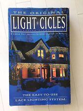 NEW Original LIGHT CICLES 400 Icicle Lights 1996 Noe Christmas Product Winner